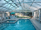Swimming pool enclosure in Napa, California