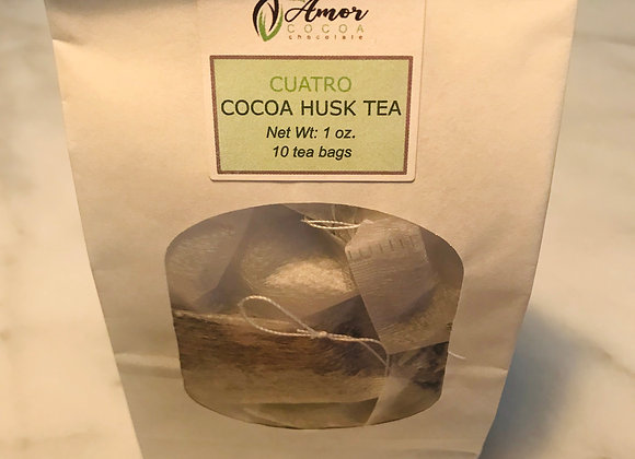 Cuatro Cocoa Husk Tea Bags (10)