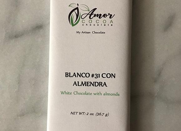 BLANCO #31 CON ALMENDRA