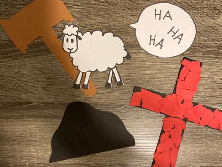 Kids! Jesus Endures the Cross