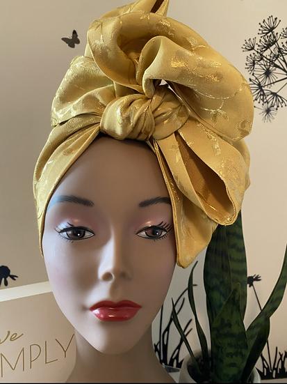 Gold Headwrap