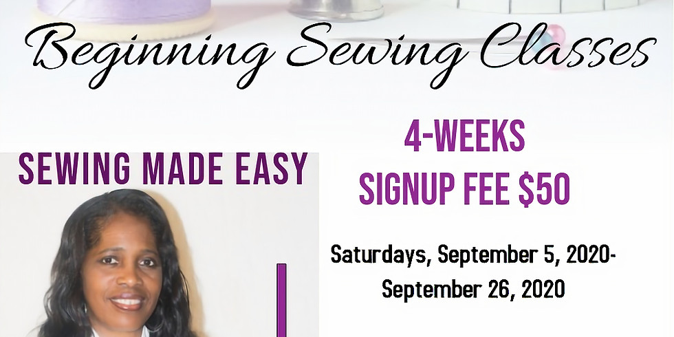 Beginning Sewing Classes