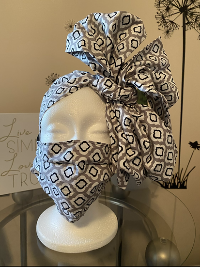 2-piece Headwrap