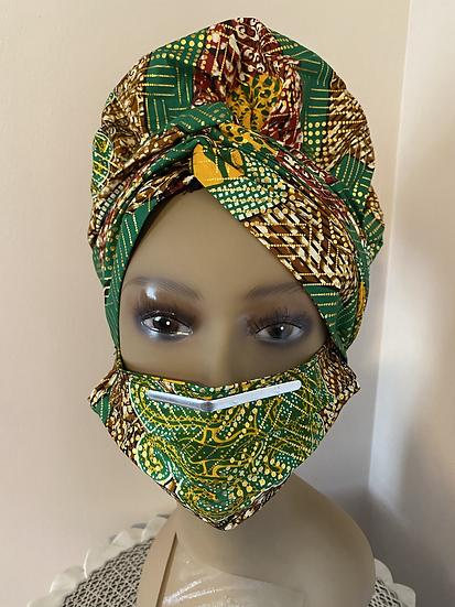 3-piece Headwrap