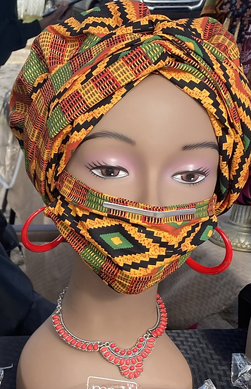 3-piece headwrap