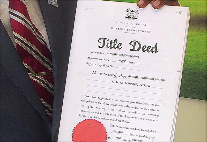 Title Deed Faith