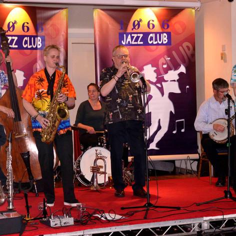 Transatlantic Band, 1066 Club, Hastings, 2017