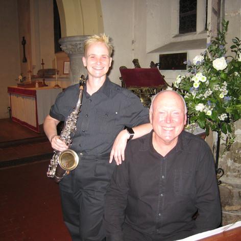 Sarah Spencer and Hugh Crozier
