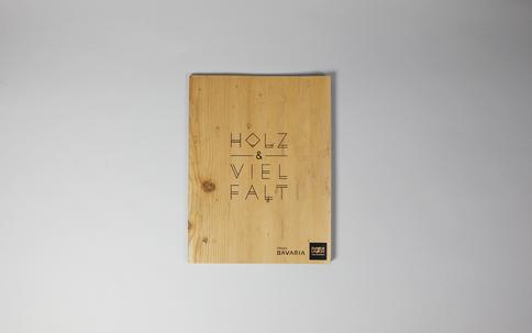 Papier Union Holzbuch