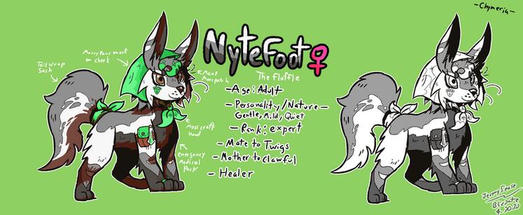 Nytefoot concept art