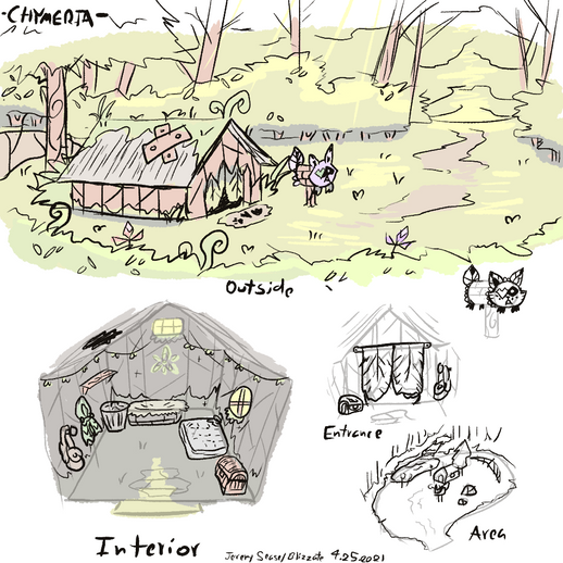 Team base concept art