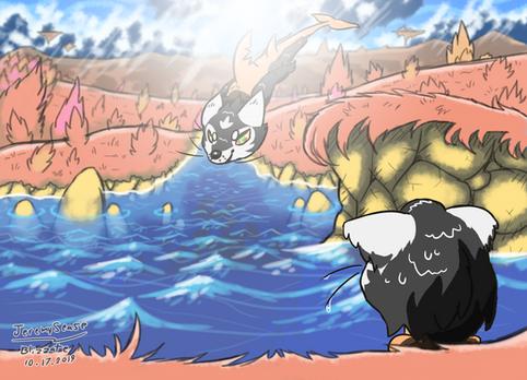 Slicqua lake dive