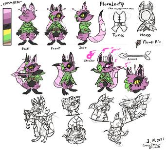 FloraLeaf concept sheet