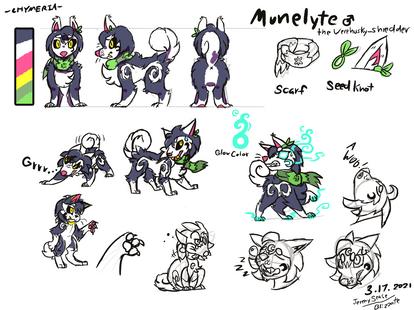 Munelyte concept sheet