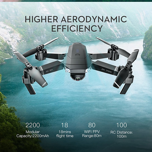SG901 Professional 4K Drone With Carry Case