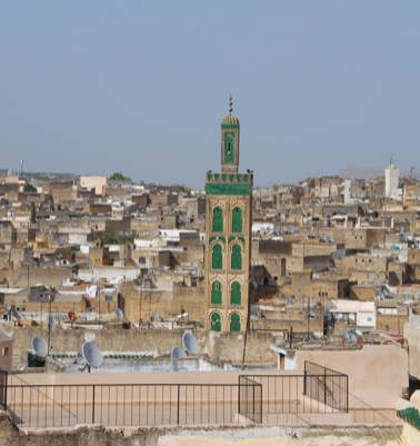 Vue terrasse Dar El Ghalia