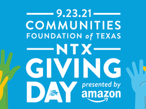 North Texas Giving Day!  September 23, 2021