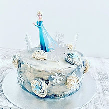 Frozen 2 birthday cake for a very specia