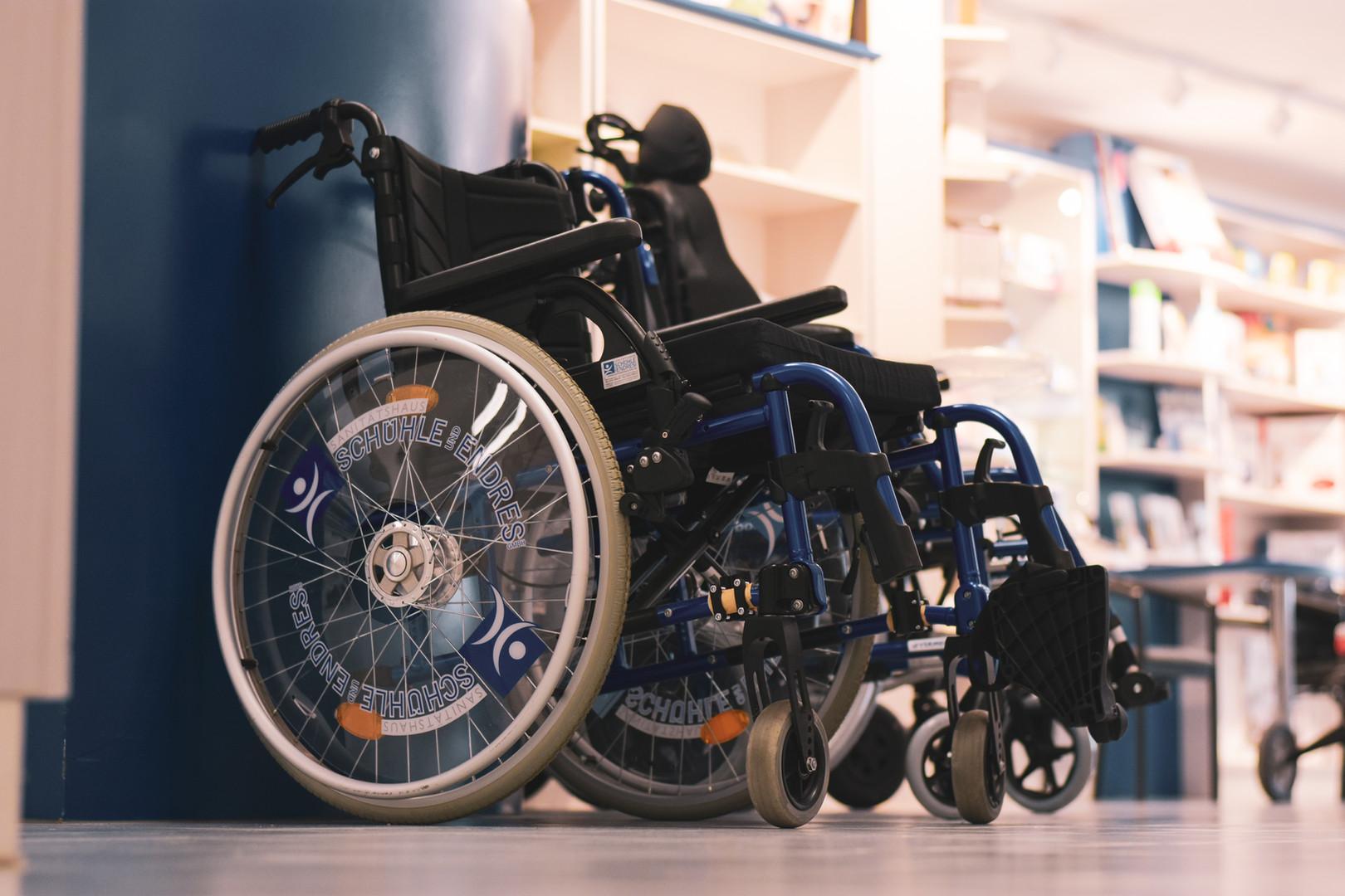 Rollstuhlauswahl Bad Mergentheim