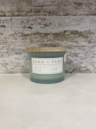 Sage and Sea Salt Candle