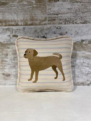 Yellow Labrador Mini Pillow