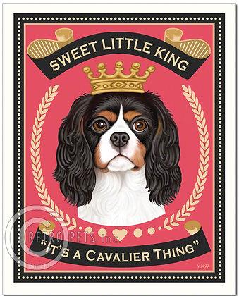 It's A Cavalier Thing Art Print