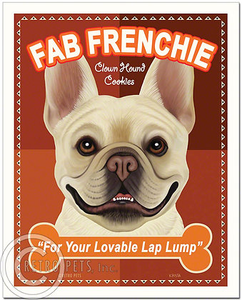 Fab Frenchie Art Print