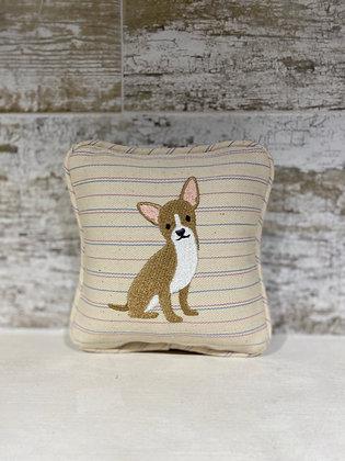 Chihuahua Mini Pillow