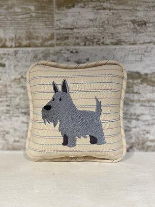 Scottish Terrier Mini Pillow