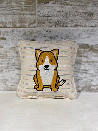 Cartoon Shiba Inu Mini Pillow