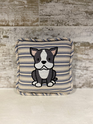Boston Terrier Mini Pillow