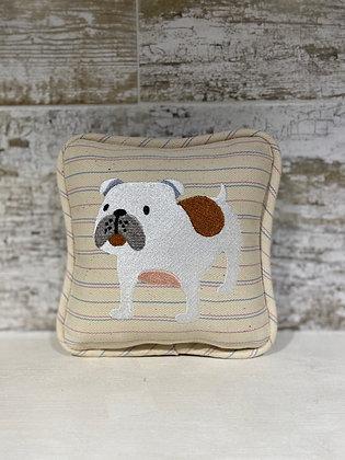 Bulldog Mini Pillow