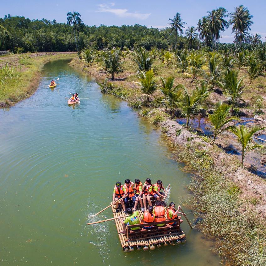 Eco Rafting At Sinar Eco Resort
