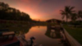 Sunset At Sinar Eco Resort