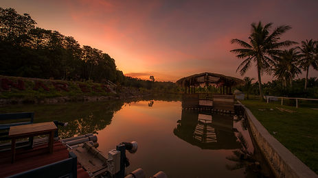 Sunset At Sinar Eco Resort