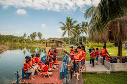 school excursion - river cruise