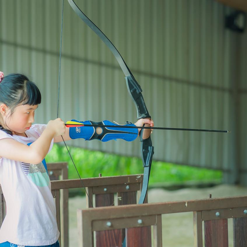 Archery At Sinar Eco Resort