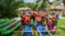 Sinar Eco Resort Raft Building