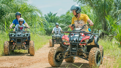 ATV At Sinar Eco Resort