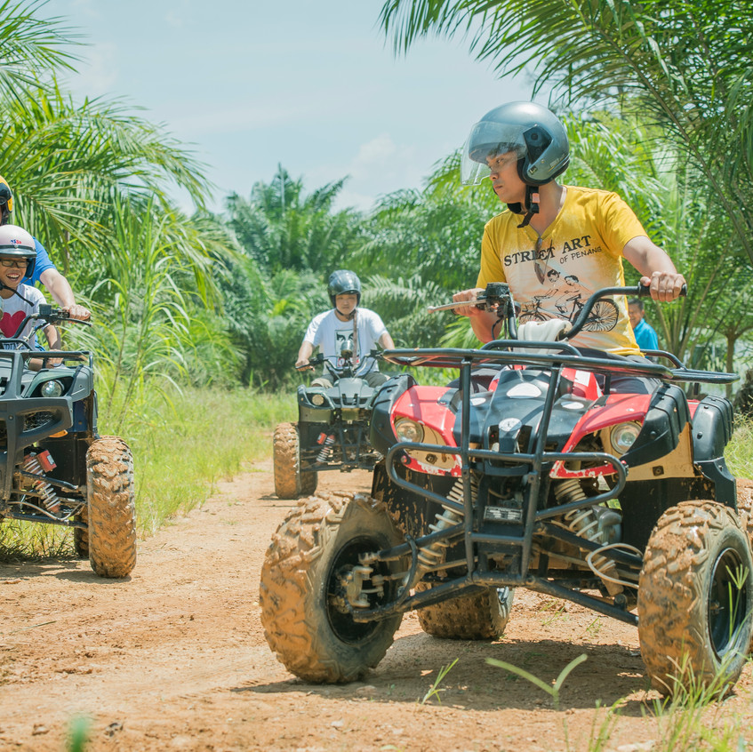 ATV At Sinar Eco Resort