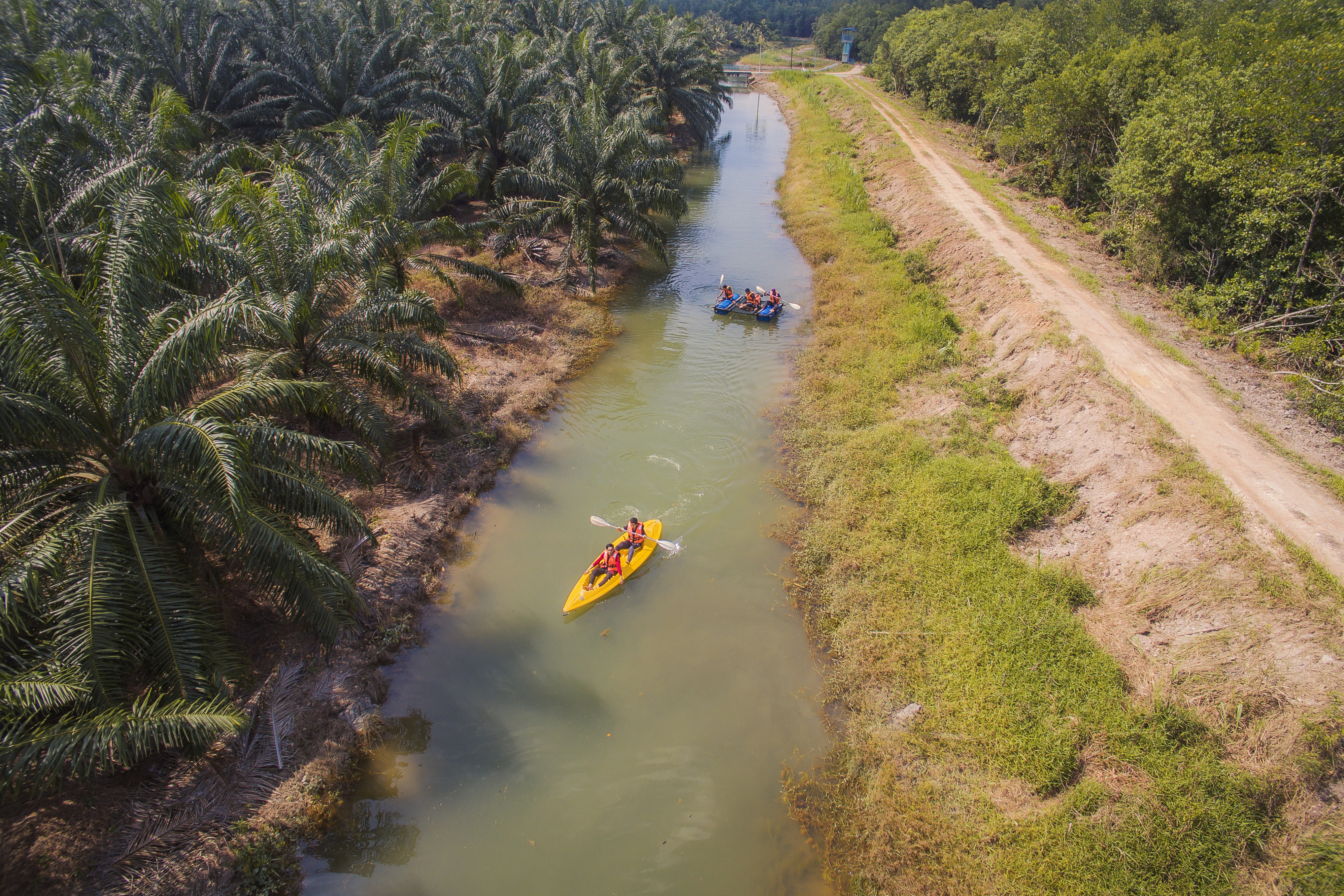 Sinar Eco Resort River Kayaking