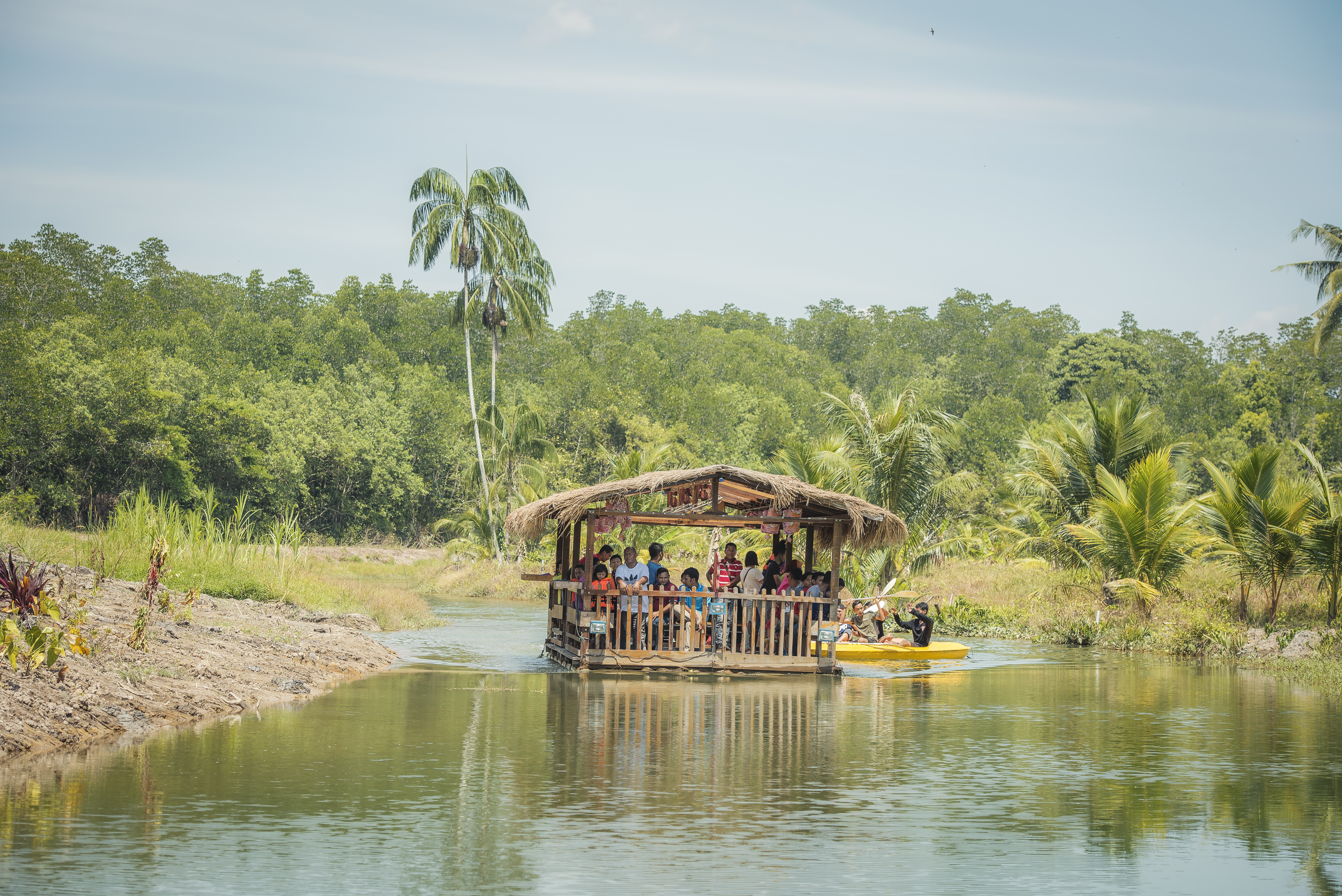 Sinar Eco Resort River Cruise