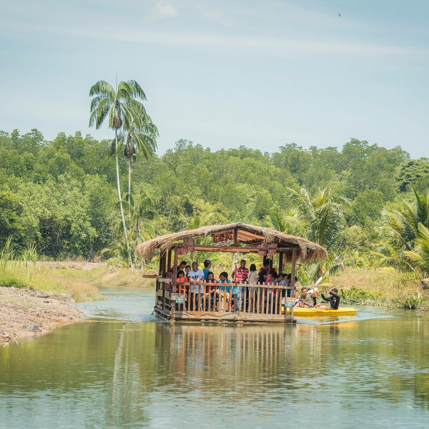 River Cruise At Sinar Eco Resort