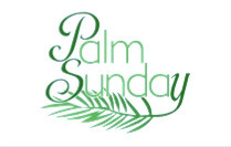 It's Palm Sunday