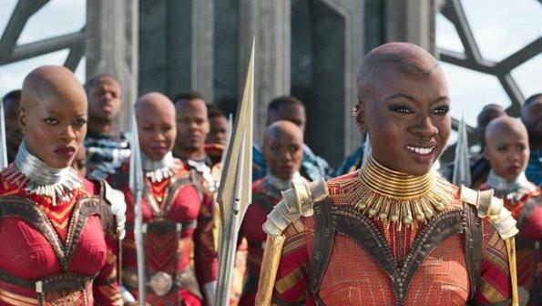 The Dora Milaje in Disney's/ Marvel's Black Panther