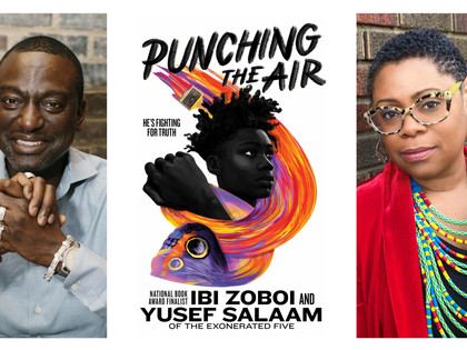 Punching the air by Izi Zoboi & Dr. Yusef Salaam