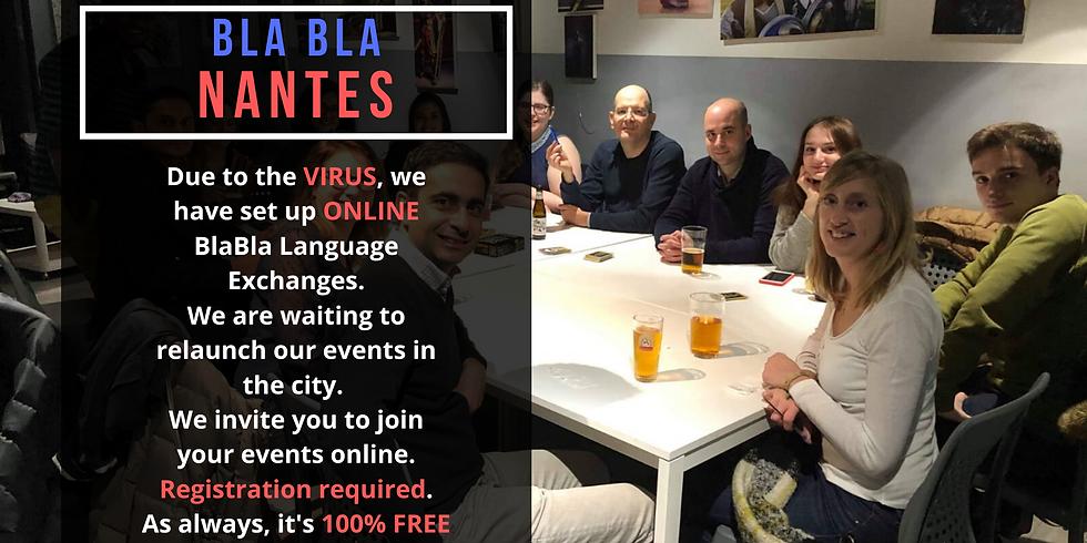 Nantes BlaBla Language Exchange (OnLine)