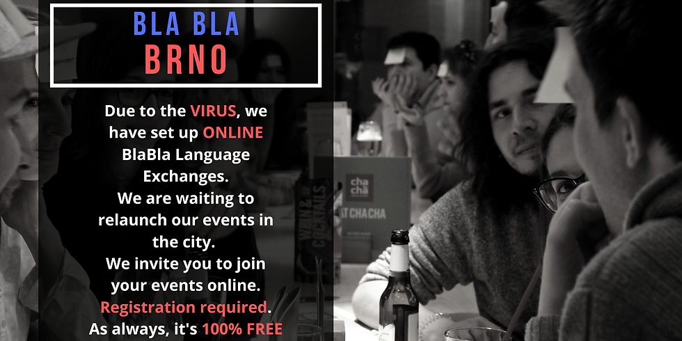 Brno BlaBla Language Exchange (OnLine)