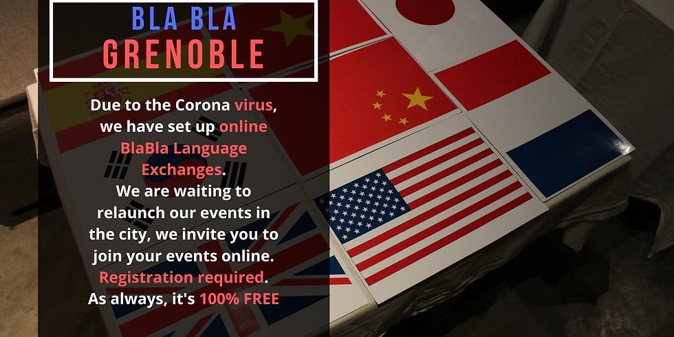 Grenoble BlaBla Language Exchange (OnLine)