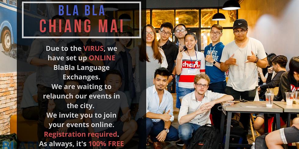 Chiang Mai BlaBla Language Exchange (OnLine)